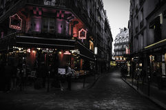 Streets of Paris Royalty Free Stock Image