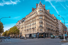 Streets of Paris, France in autumn. Stock Photography