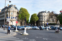 Streets of Paris. Royalty Free Stock Photo