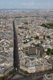 Streets of Paris. Stock Photo