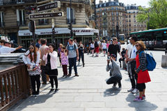 Streets of Paris. Stock Images