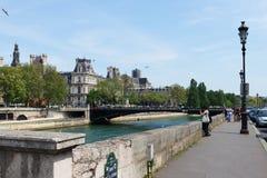 Streets of Paris. Royalty Free Stock Photo