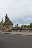 Streets of Paris. Royalty Free Stock Image