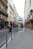 Streets of Paris. Royalty Free Stock Photos