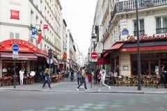 Streets of Paris. Stock Image
