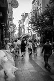 Streets And People Of Istanbul stock image