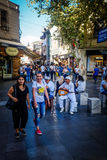 Streets And People Of Istanbul royalty free stock photo