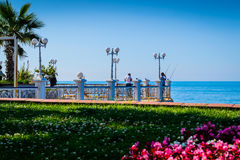 Streets And People Of Yalova City Stock Images