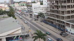 Streets of Pointe-Noire Congo