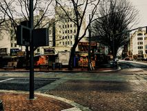 Streets of Portland Stock Image