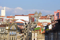 The streets of Porto, Portugal Stock Photography