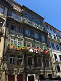 Streets of Porto Portugal in Summer royalty free stock photography