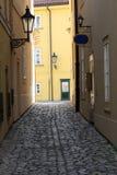 Streets of Prague Royalty Free Stock Photo