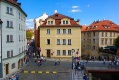 Streets of Prague Stock Image