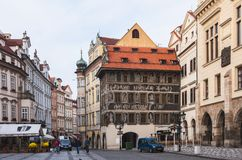 Streets of Prague, Czech Stock Photos
