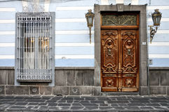 Streets of Puebla, Mexico Royalty Free Stock Photography
