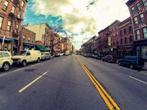Streets of Queens Royalty Free Stock Images