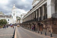Streets of Quito Central, Ecuador Stock Photo