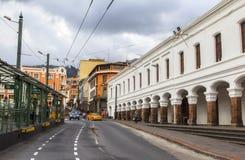 Streets of Quito Central, Ecuador Stock Photography