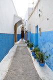 Streets of Rabat, Morocco Royalty Free Stock Image