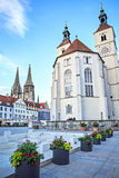 Streets of Regensburg Royalty Free Stock Photo