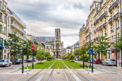 In the streets in Reims Royalty Free Stock Images