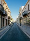 Streets of Rethymnon Royalty Free Stock Photo
