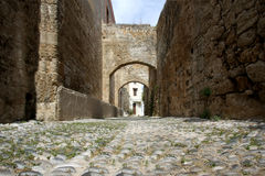 Streets Of Rhodes Island Stock Images