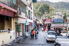 In the streets of Rishikesh Royalty Free Stock Images