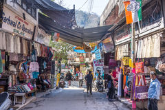 In the streets of Rishikesh Royalty Free Stock Photo