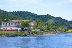 Streets of Roatan, Honduras Stock Photos