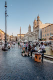 Streets of Rome Stock Images