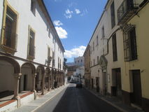 Streets of Ronda. Old Town in Ronda, Spain Royalty Free Stock Image