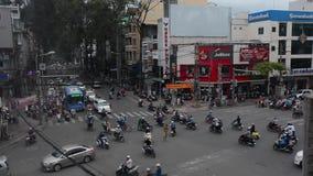 Streets of Saigon stock footage