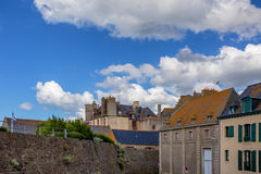 Streets of Saint-Malo Royalty Free Stock Images