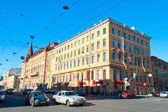 Streets of Saint Petersburg Stock Photography