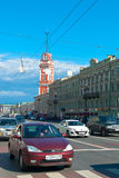 Streets of Saint Petersburg Royalty Free Stock Photography