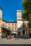 In the streets of Saint-Remy-de-Provence Royalty Free Stock Images