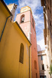 The streets of Saint-Tropez. France royalty free stock photography