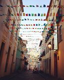 Streets of Salvador, Brazil Royalty Free Stock Photo