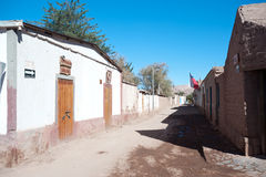 Streets of San Pedro de Atacama Stock Photography