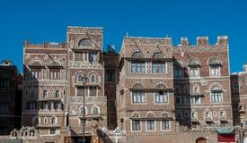 Streets of Sanaa, Yemen Royalty Free Stock Images