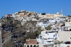 Streets of Santorini Stock Photo