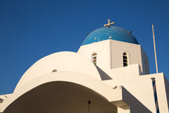 Streets of Santorini Royalty Free Stock Images