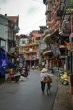 Streets of Sapa, Vietnam Stock Photos