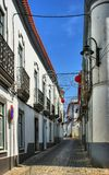Streets of Serpa village royalty free stock photos