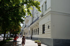 On the streets of Sevastopol Royalty Free Stock Photo