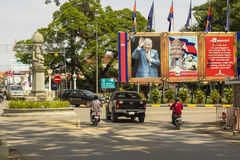 On the streets of Siem Reap, Cambodia Stock Image