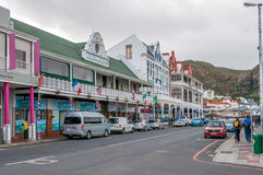 In The Streets in Simons Town stock photos