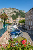 In the streets of Sisteron Stock Image